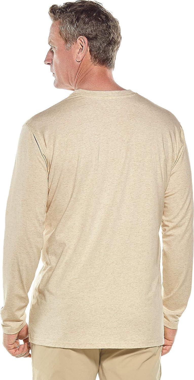 Coolibar UPF 50 Mens Morada Everyday Long Sleeve T-Shirt Sun Protective