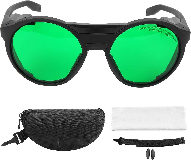Gafas de seguridad Gafas portátiles, pueden absorber la luz, anti-fatiga ocular y reflejos ultravioleta, gafas portátiles con tela para gafas y estuche