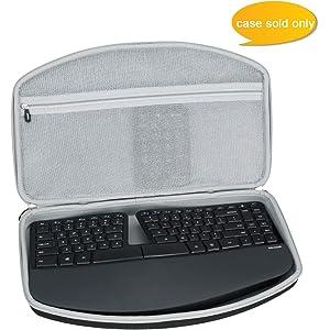 Amazon com: Microsoft Sculpt Ergonomic Keyboard for Business (5KV