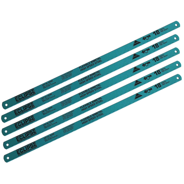 Assorted Hacksaw Blades Flexible 5
