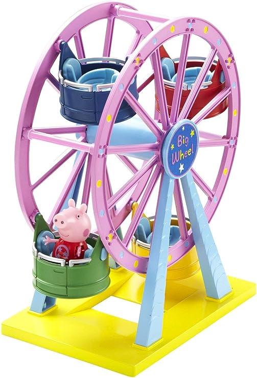 PEPPA PIG FAIRGROUND BIG roue//FERRIS Roue Avec figures lot jeu jouet
