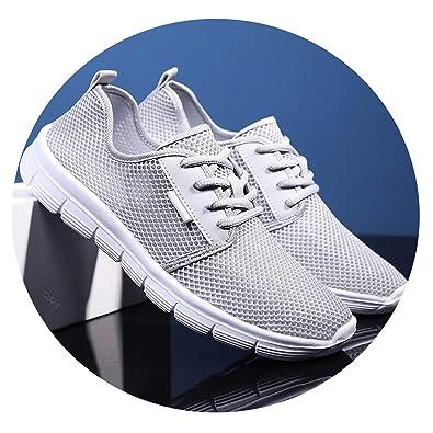 273a7d1a39148 Amazon.com | sensitives Trend 2019 Summer Sneakers Men Breathable ...