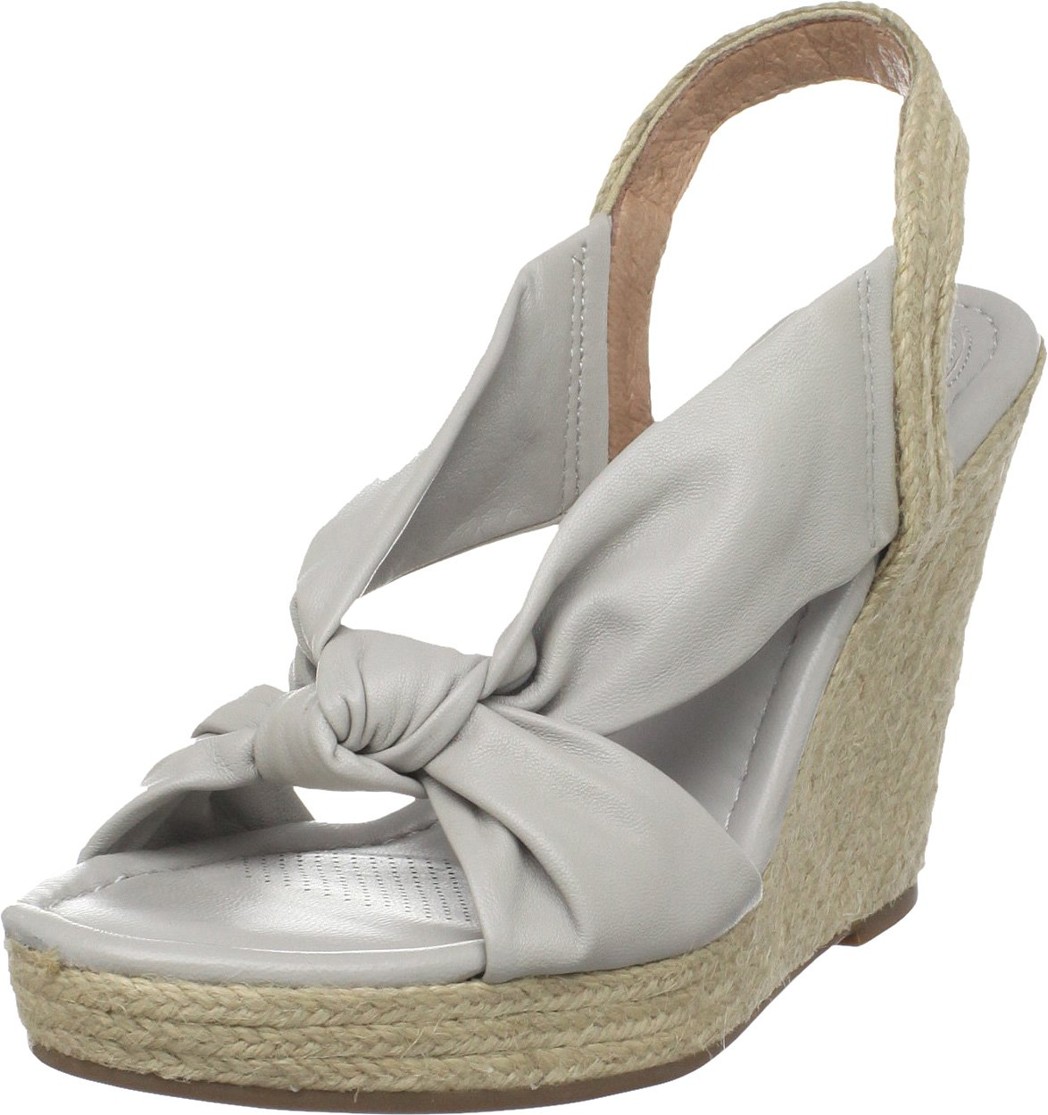 Corso Como Women's Doze Knotted Espadrille B004A8LIGI 6.5 B(M) US|Light Grey