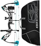 Diamond Carbon Knockout Compound Bow, Right Hand with Easton Soft Bow Case