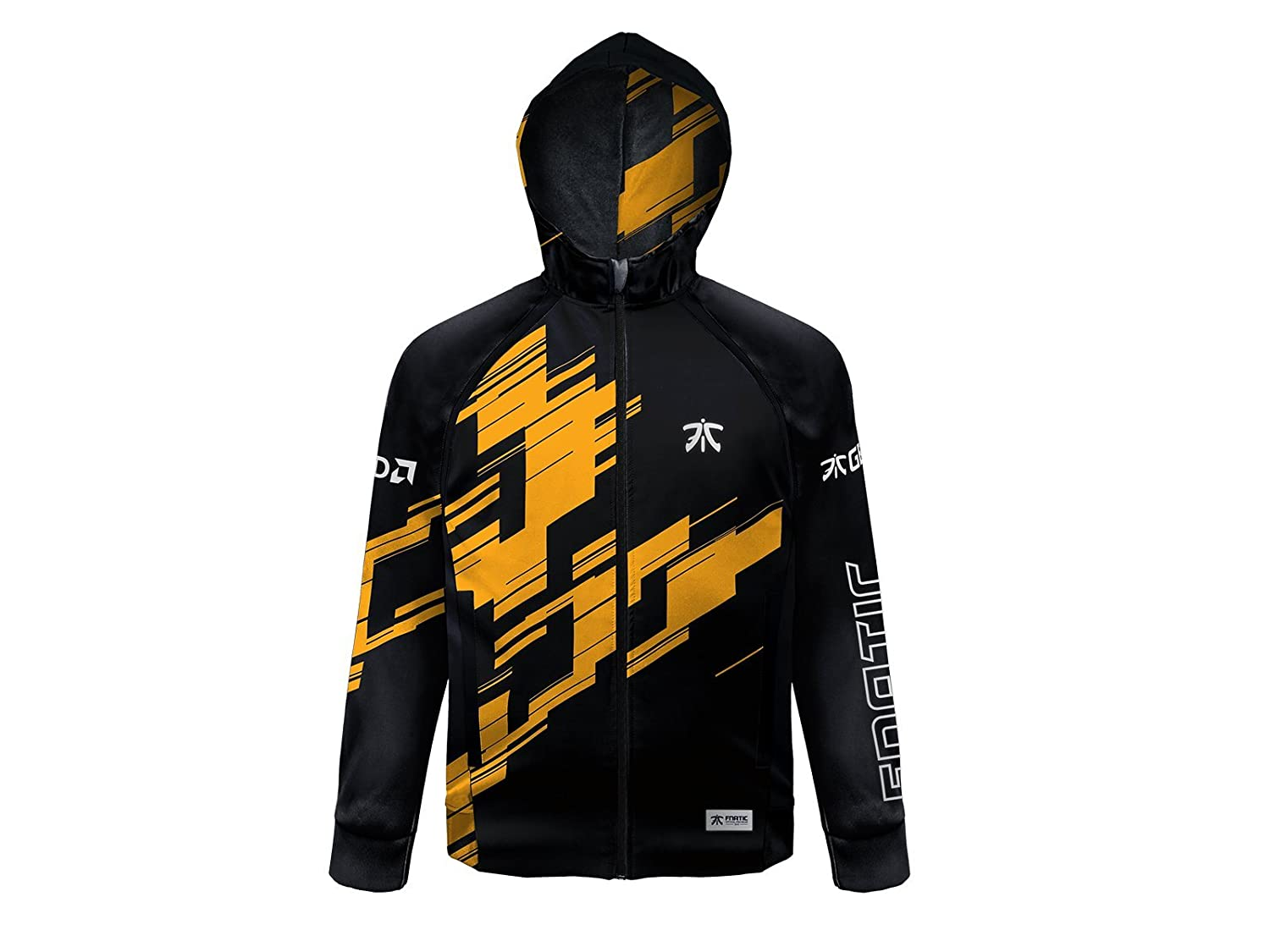 Fnatic Player Pro Wear Hooded Jacket 2018 (Reflective, Esports)
