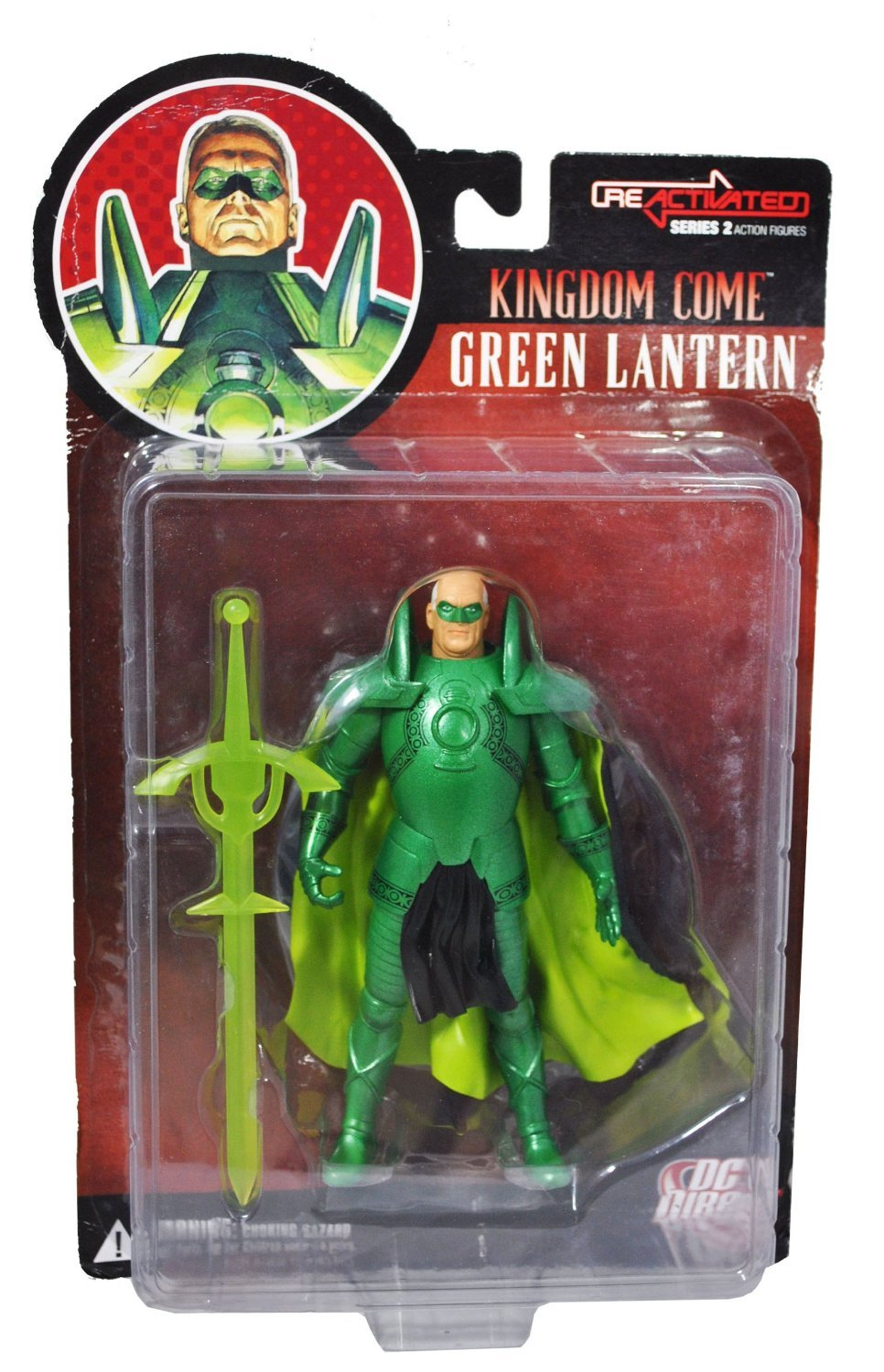 Reactivated Series 2: Kingdom Come Green Lantern Action Figure