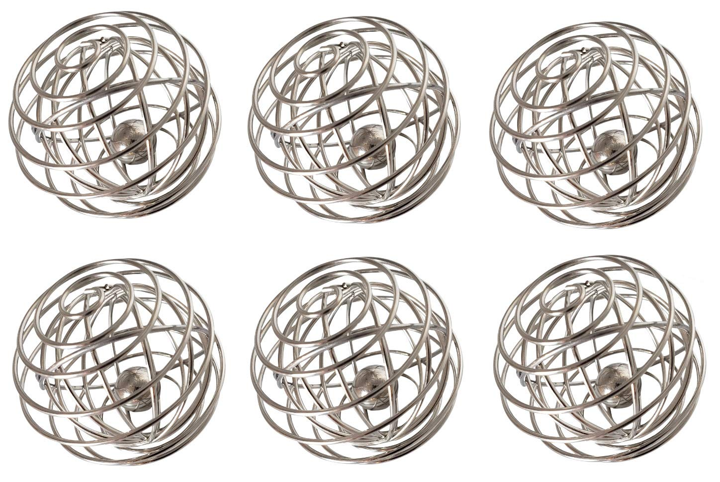 (6) Amazing Shaker Balls | Mason Jar Whisk Balls | Cocktail Mixer Ball for Decadent Foams | Ball Whisk for Shaker Bottle Ball | Protein Mix Ball | Mix Matcha Better w/these Ball Shakers (6 whiskballs) by VansieHome