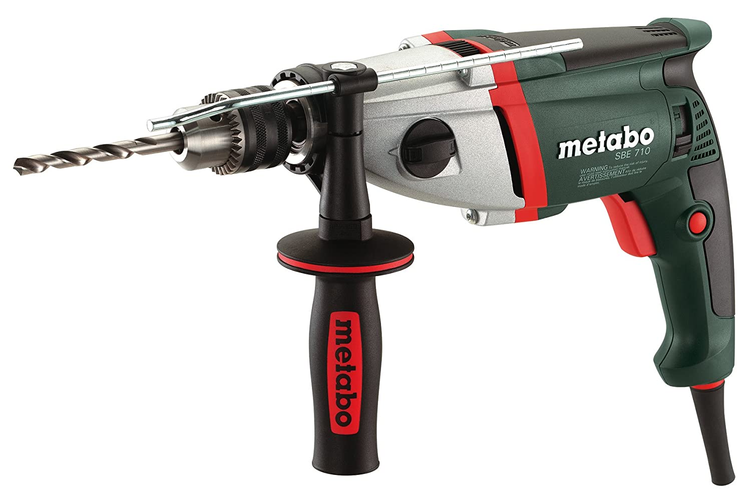 Metabo SBE 710 0-1,000/0-3,100 RPM 5.8 AMP 1/2-Inch Hammer Drill by Metabo B005G10PNK