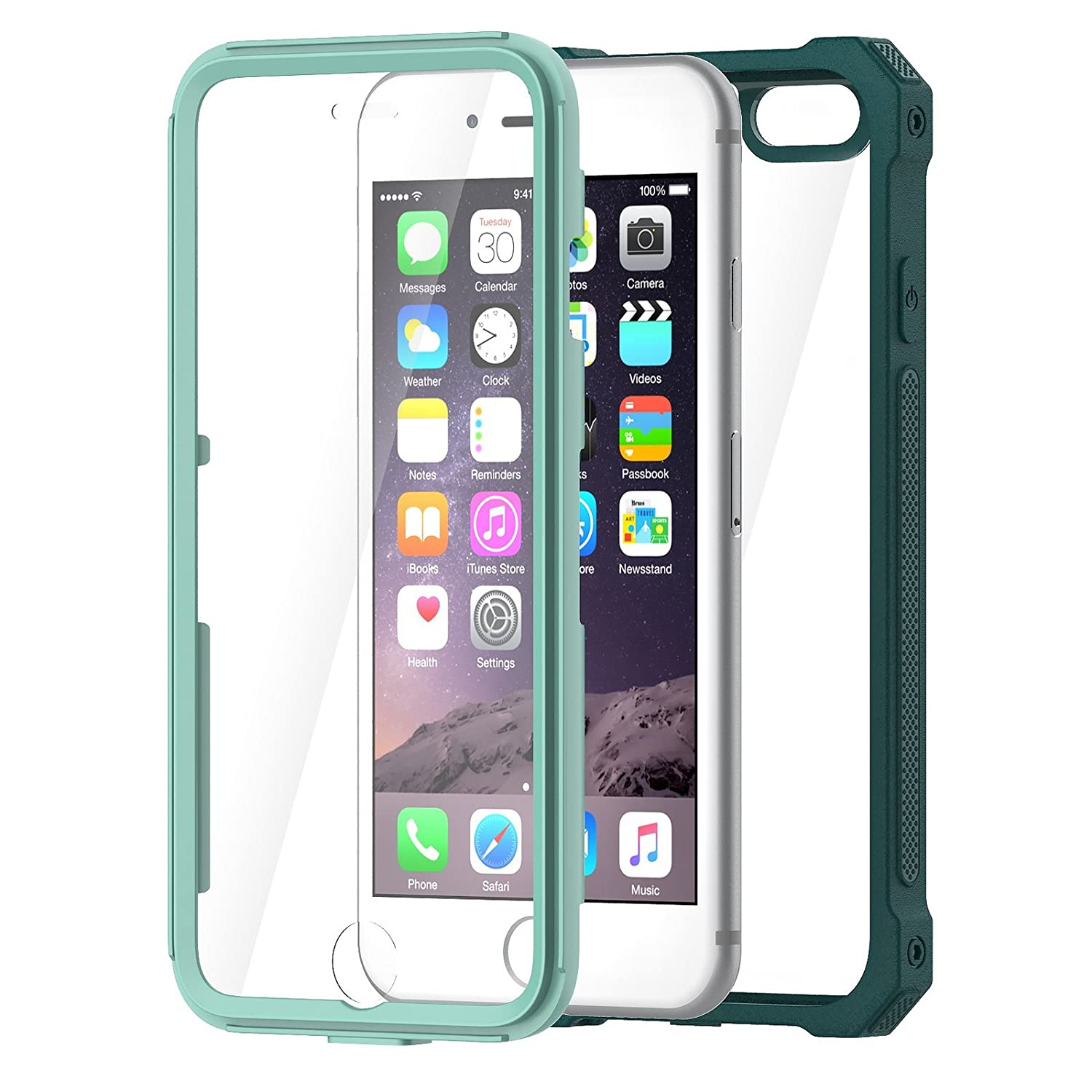 amazon com iphone 6s case iphone 6 case by daswise clear bumper
