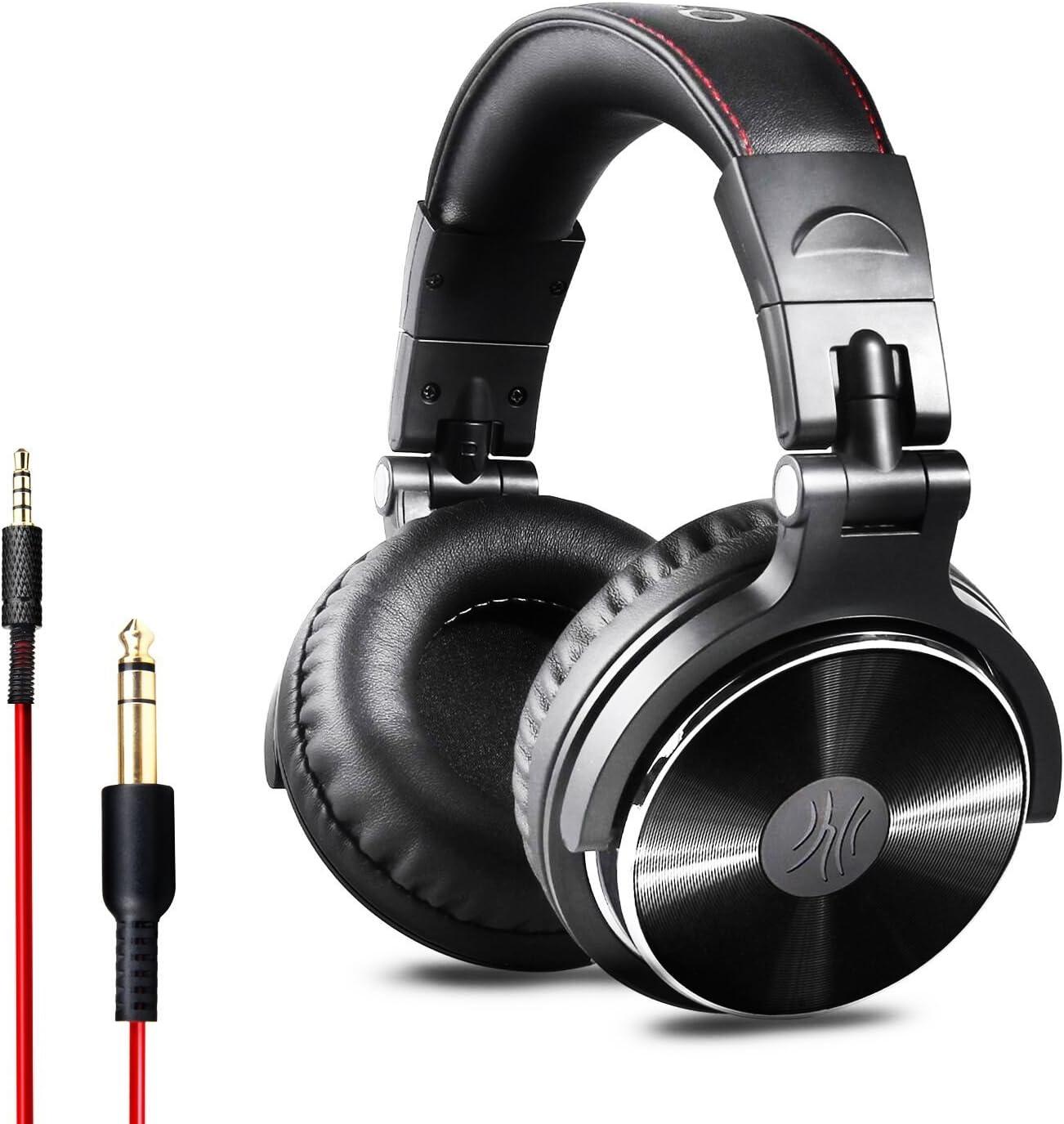OneOdio Auriculares para oídos, Audífonos cerrados DJ Studio ...