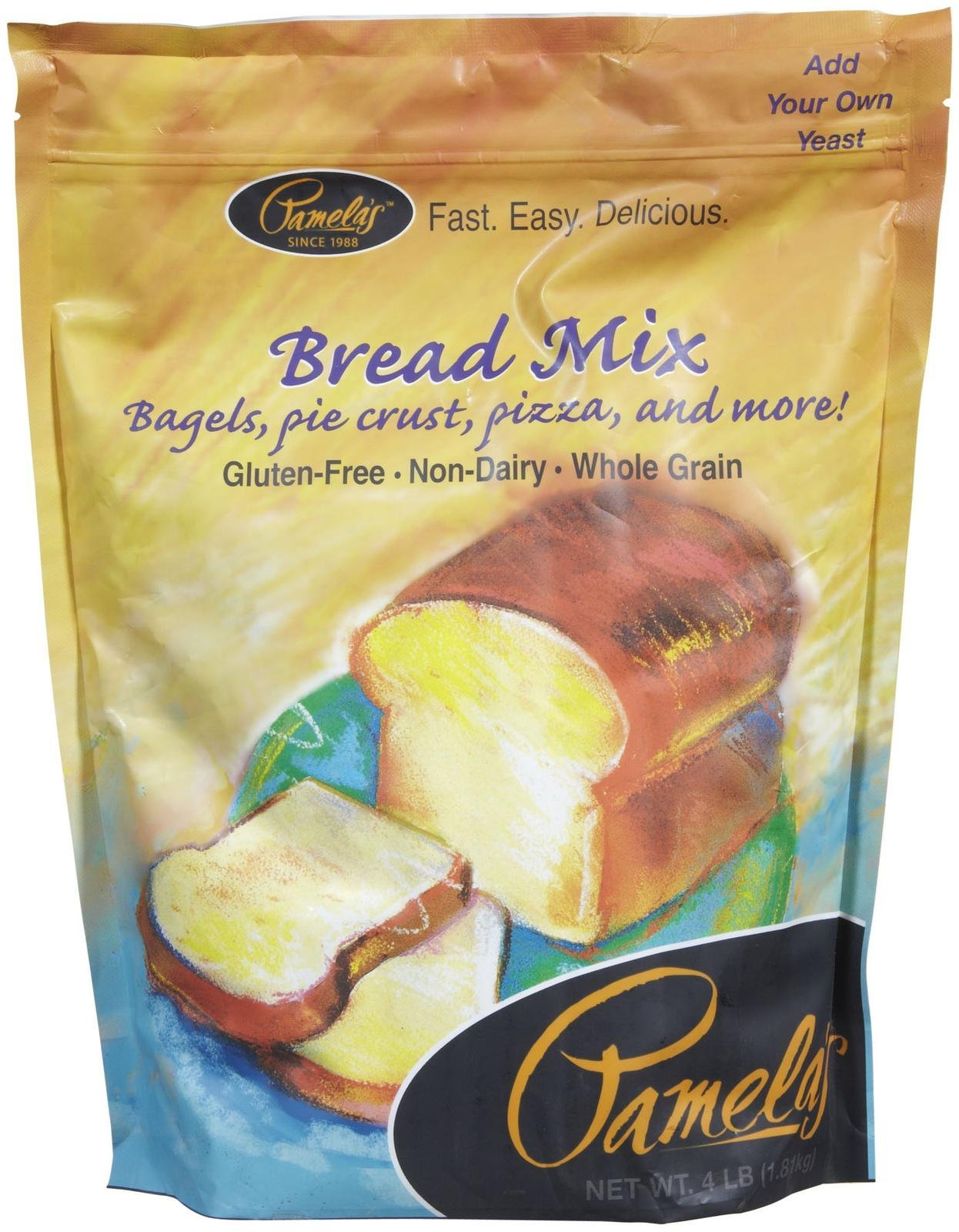 Pamelas Bread & Flour Mix