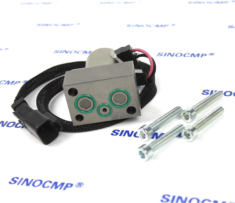 3 Month Warranty 702-21-57500 Pilot Valve SINOCMP Excavator Solenoids for Komatsu PC400LC-7 Excavator Parts