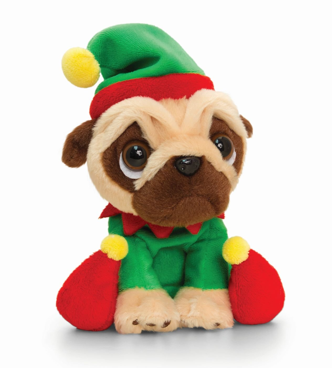 Fantastic Bean Bags Keel Toys Christmas Pugsley Pug Dog Soft Plush Toy Machost Co Dining Chair Design Ideas Machostcouk