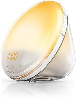 Philips - Premium Wake Up Light with Sunrise Simulation HF3520