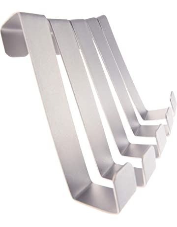 Verzinkter grau beschichteter Wandhaken Kleiderhaken Ger/ätehalter Montagehaken 300 x 250 mm /Ø18 mm bis 20 kg