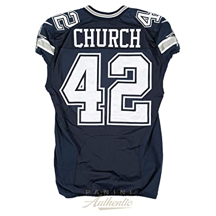 size 40 9e2fd e59ac Barry Church Game Worn Dallas Cowboys Jersey and Pant Set ...