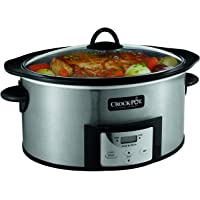 Crock-Pot 6-Quart Countdown Programmable Oval Slow Cooker