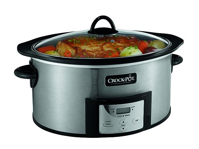 Amazon.com: Crock-PotOlla de cocción lenta de 6 ...