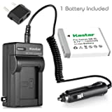 Kastar Battery+Charger for Canon PowerShot D10 S90 SD1200 IS SD1300 IS SD3500 IS SD770 IS SD980 IS