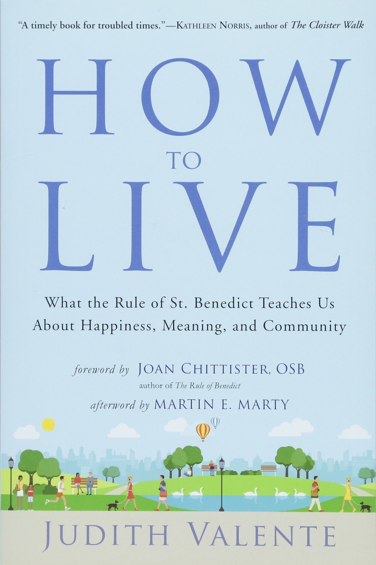 How to live what the rule of st benedict teaches us about how to live what the rule of st benedict teaches us about happiness meaning and community judith valente martin e marty joan chittister fandeluxe Gallery