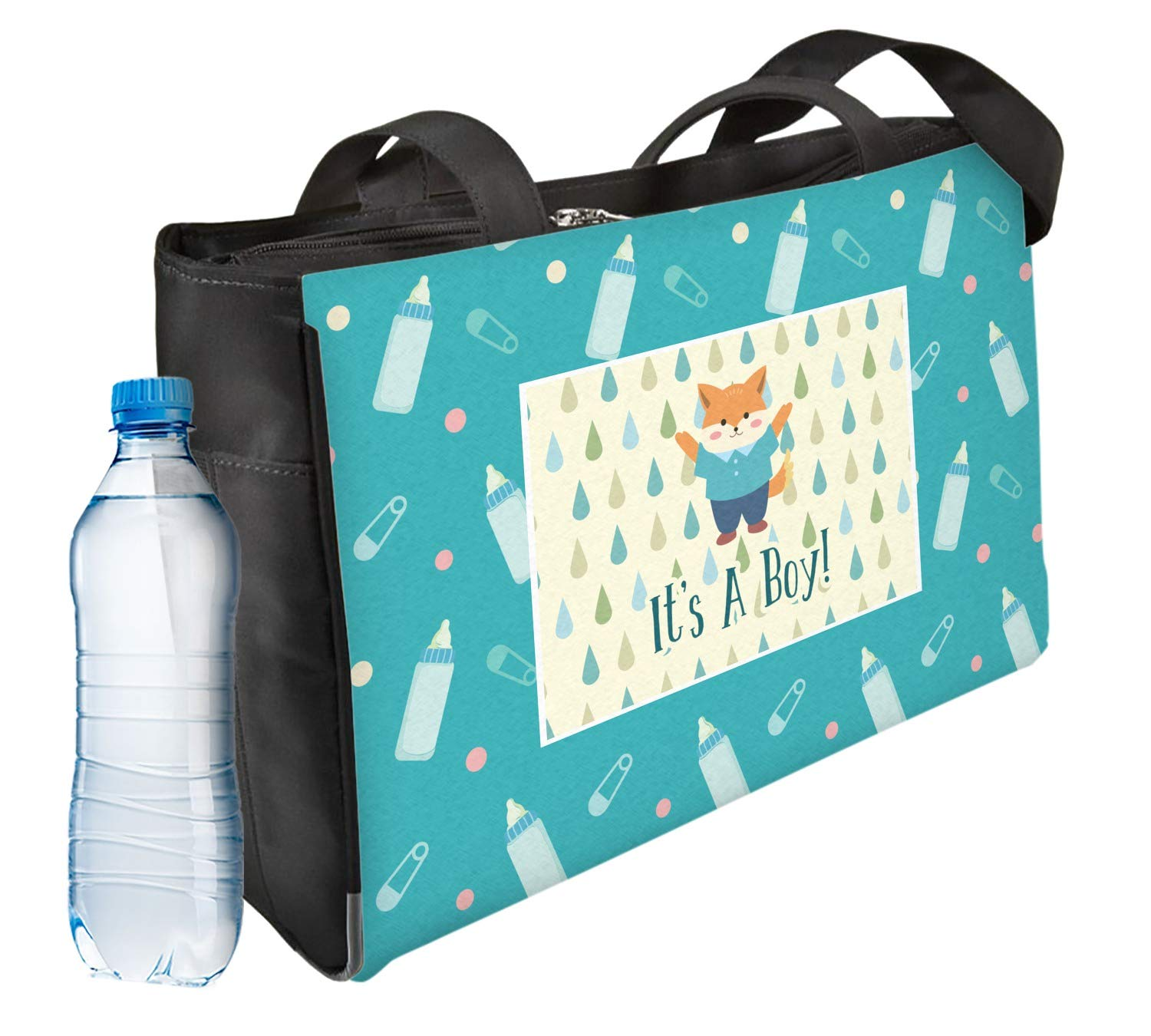 Baby Shower Ladies Workout Bag - Front (Personalized)