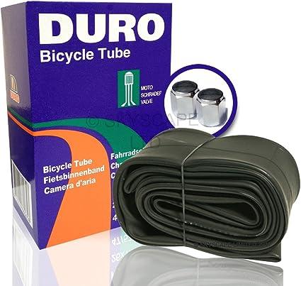 "24 x 1-1//8/"" Bicycle Tube Schrader Valve 4 Pack"