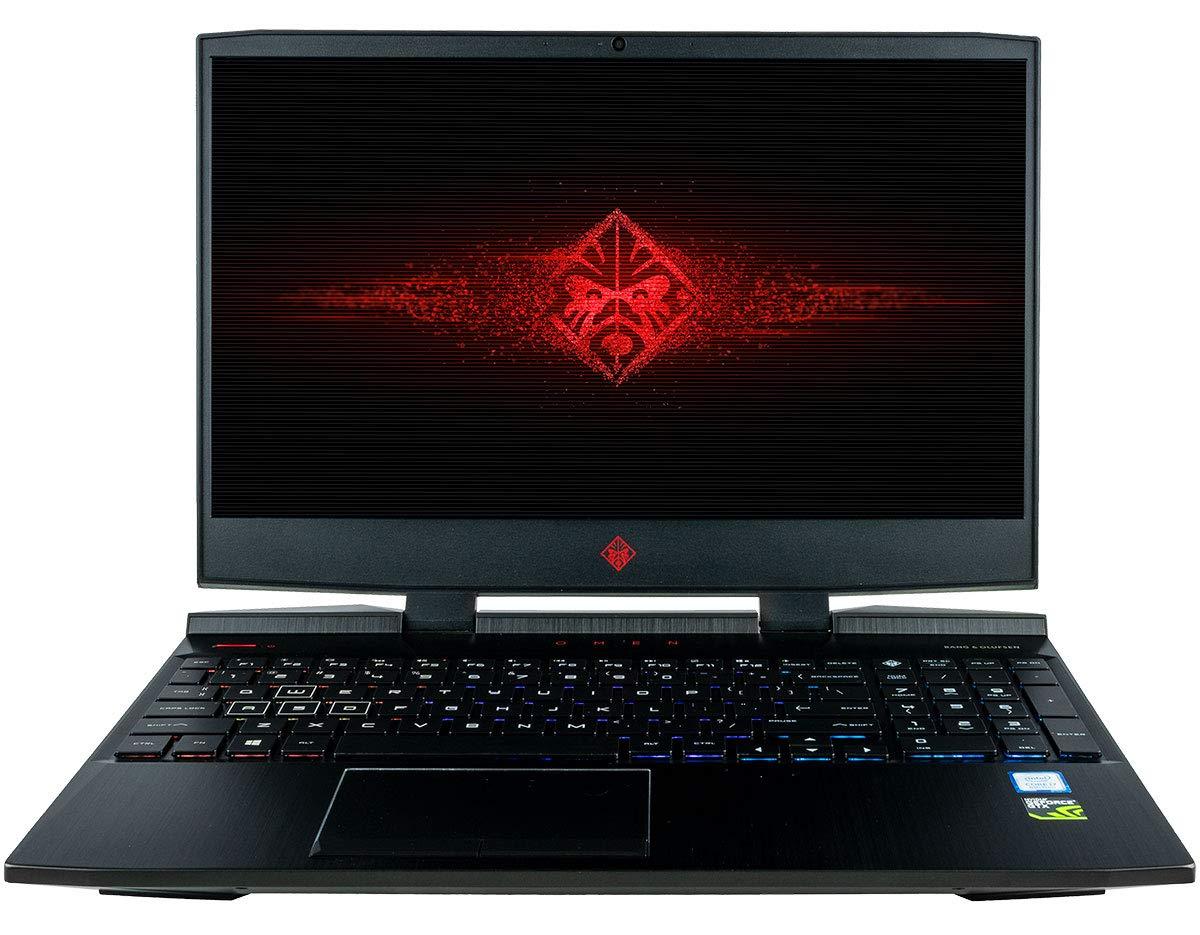 CUK Omen 15t Gaming Laptop (Intel i7-8750H, 8GB RAM, 120GB NVMe SSD + 1TB HDD, NVIDIA GeForce GTX 1050 Ti 4GB, 15.6…