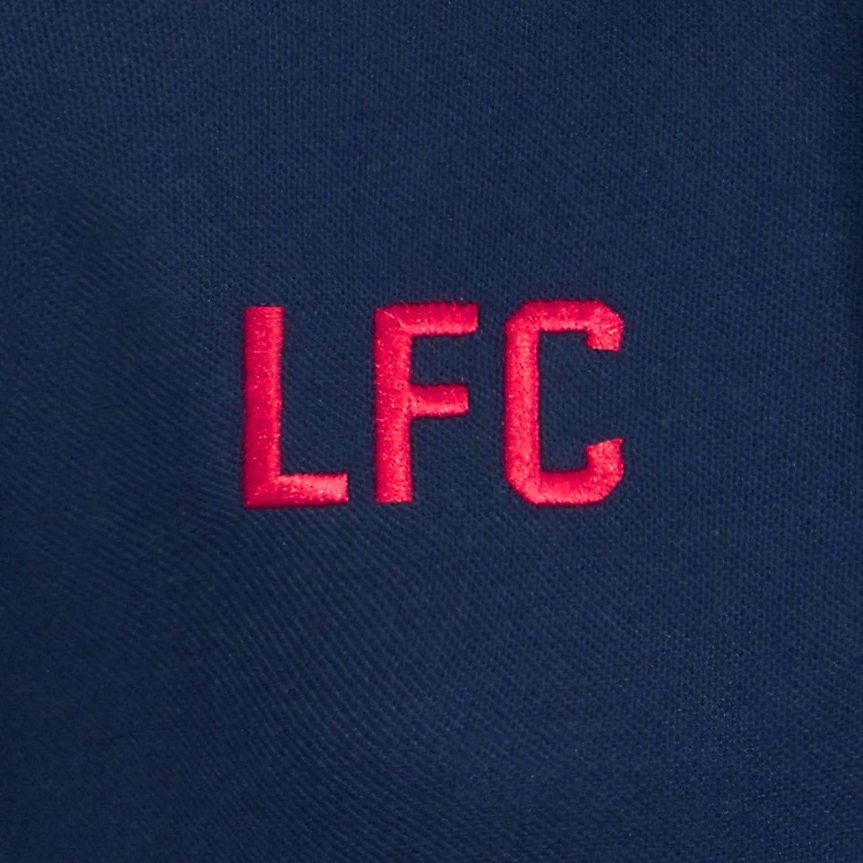 Liverpool Football Club Official Soccer Gift Boys Crest Polo Shirt