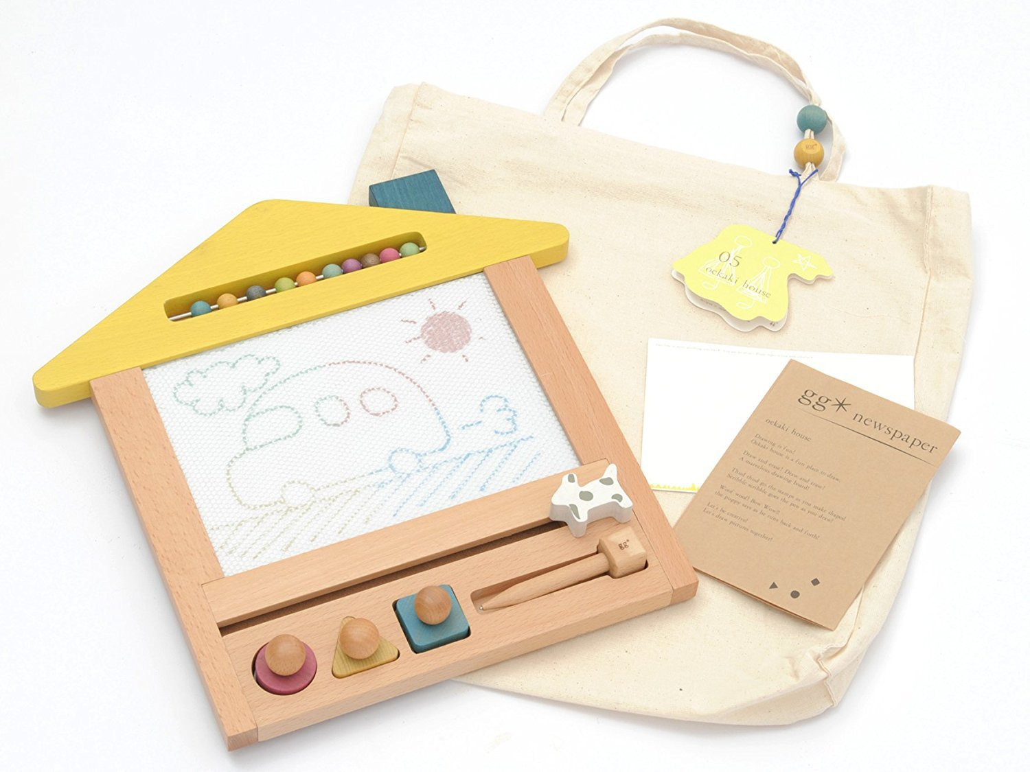 birthday present toys and baby gifts gg  oekaki house of (di Gio painter House) House Oekaki Drawing Board tree (japan import)