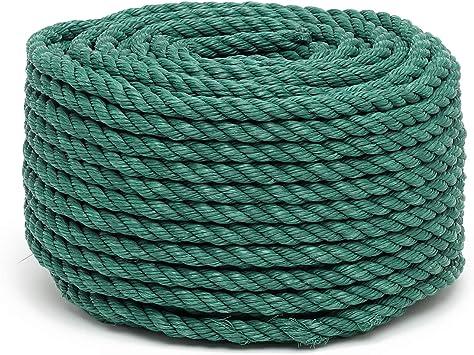 Flandria 20023 cuerda (polipropileno, diámetro 12 mm x 50 m, verde