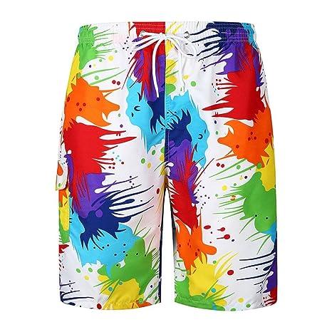 Generico sisit uomini moda estate nuovo Stampa Tempo libero Shorts estate  sport lche confortevole romantico Pantaloni 3c416fc4cd63