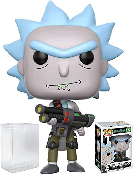 Weaponized Rick Funko Pop Vinyl Figure Official Rick and Morty Toy Collectables