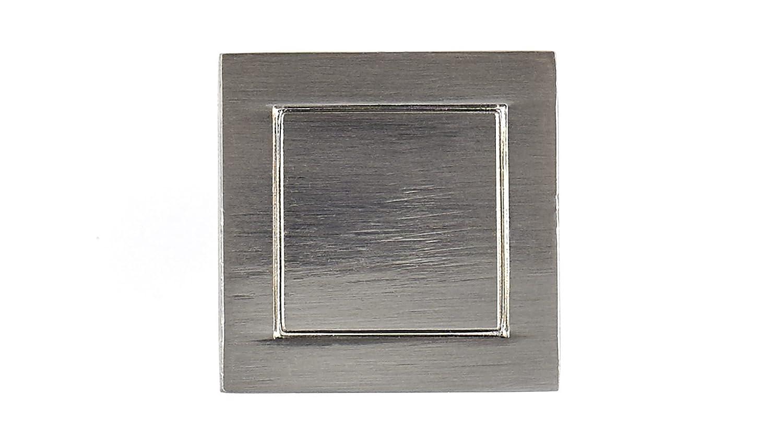 Richelieu Hardware Transitional Metal Knob BP2537024195 Brushed Nickel  Finish 2537