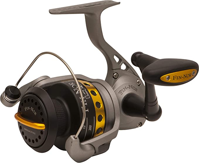 Fin-Nor LT40 Lethal Spinning Reel, 230-Yards, 10-Pound Mono Line ...