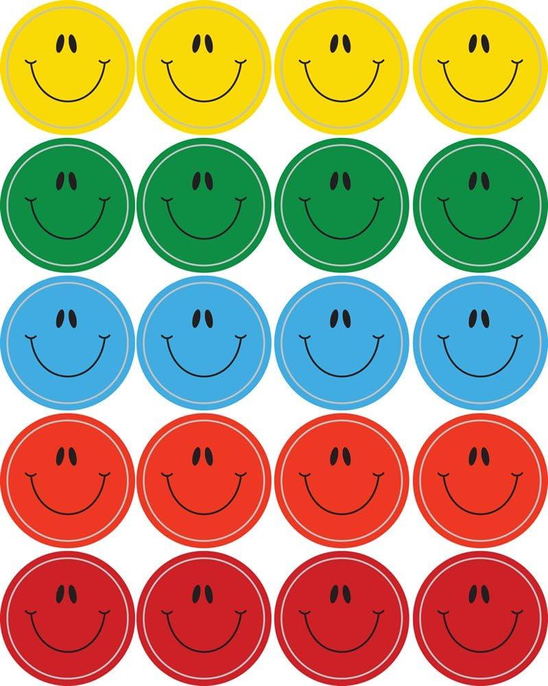 Smiley Faces Multicolor