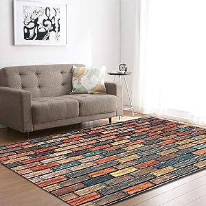Carpets for Living Room Flannel Velvet Rectangle Area Rug Modern Indoor Floor Rugs Home Decor Kid Play Mat