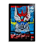 Go Nagai Mazinger Z - Pop-Art Original Framed Fine