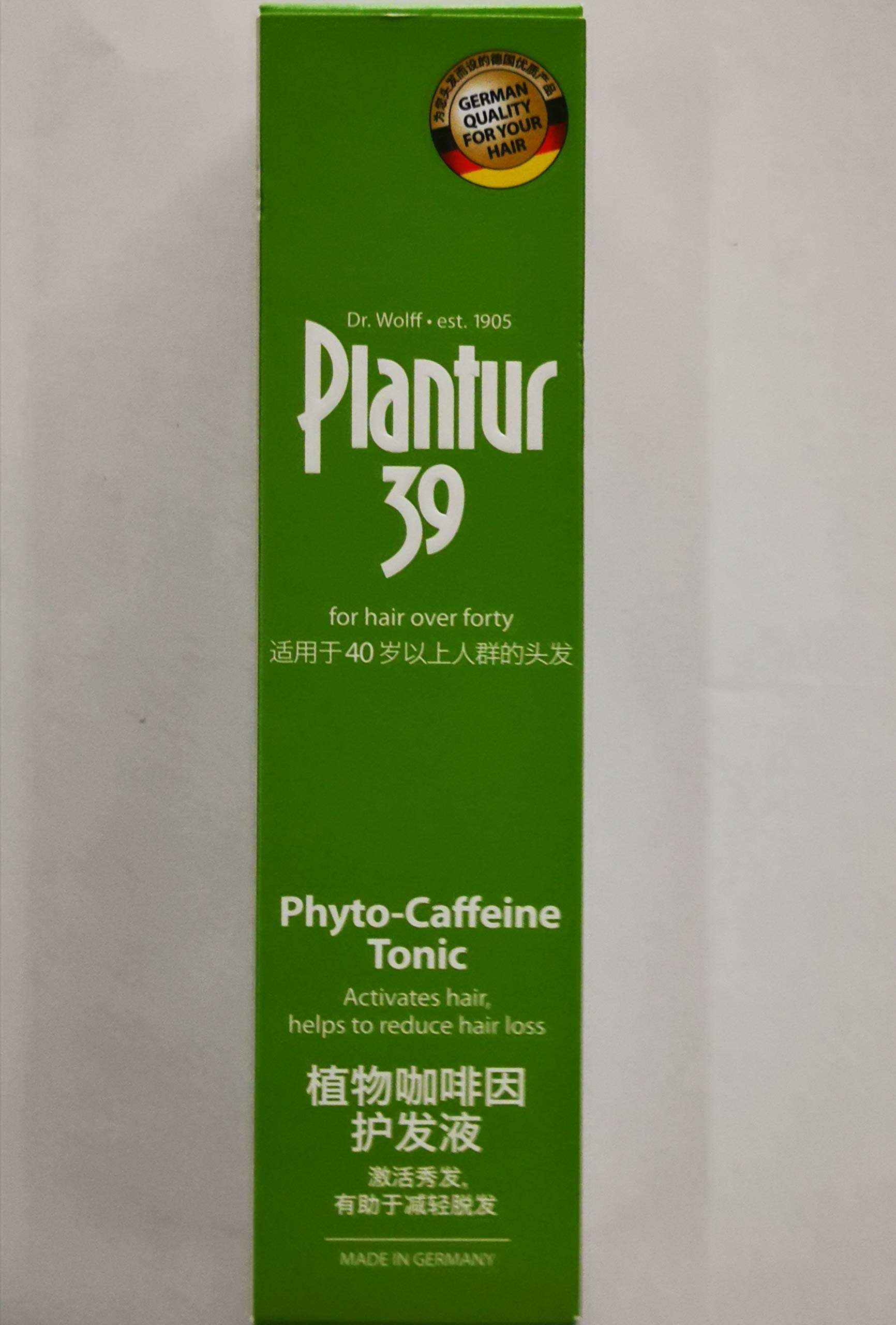 PLANTUR 39 Tonic 200ml - Helps to Prevent Premature Exhaustion of Hair Growth by PLANTUR 39