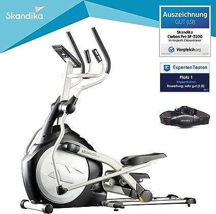 skandika Crosstrainer CardioCross Carbon Pro Elliptical - Elíptica de Fitness, Color Multicolor, Talla DE: 158 x 60 x 117 cm: skandika: Amazon.es: Deportes y aire libre