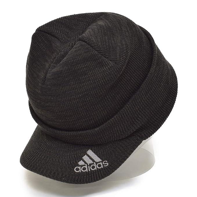 アディダス(adidas) ツバ付き ニット帽 ロゴ ビーニー ニットキャップ ニット帽 KNIT CAP b36757dee193