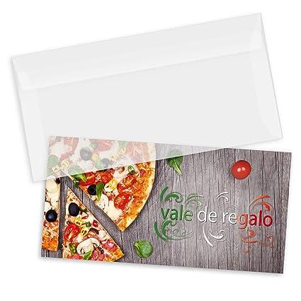 100 tarjetas de regalo de alta calidad + 100 sobres con ...