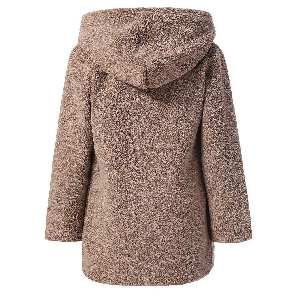 JMETRIC Warme lässige Winterjacke mit Fleece Fleece für