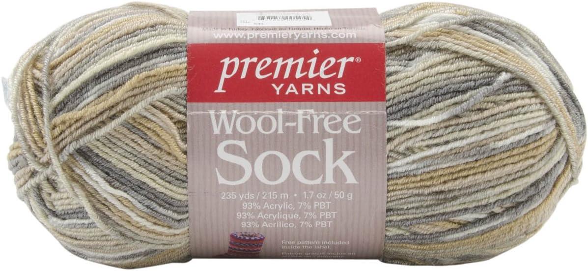 Premier Yarn WFS-06 Wool Free Sock Yarn, Pueblo