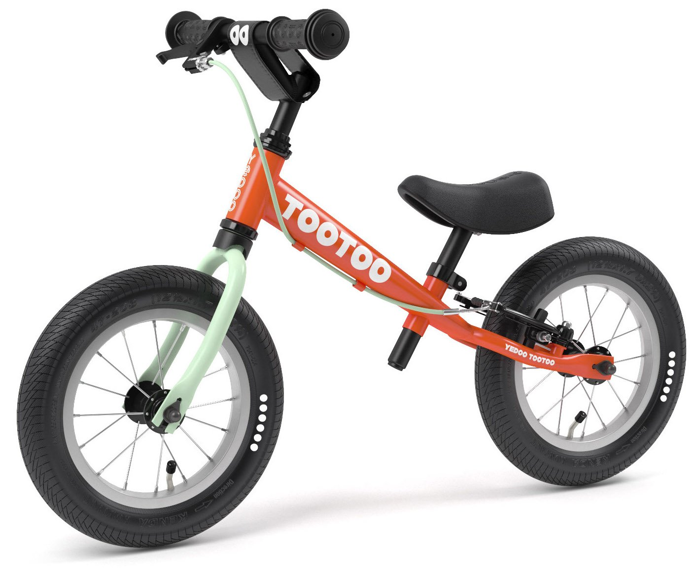 Yedoo 2018 TooToo 12'' Balance Bike Carrot Juice Age 2-4
