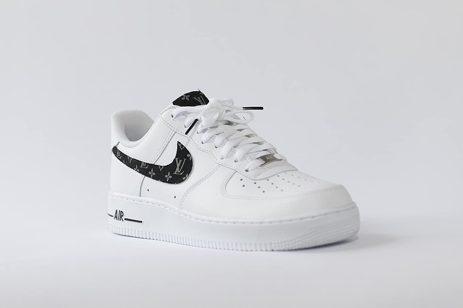 038bfb54894497 Amazon.com  Nike Air Force 1 AF1 Custom LV Scarf Inspired Edition  Handmade