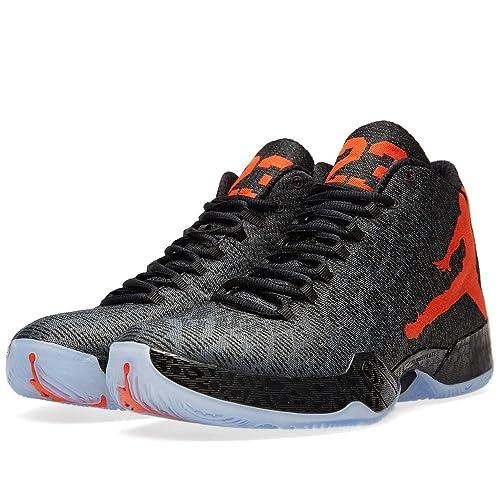 Nike Air Jordan XX9, Zapatillas de Baloncesto para Hombre, Negro/Naranja/Gris
