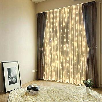 FEFELightup LED Curtain Lights