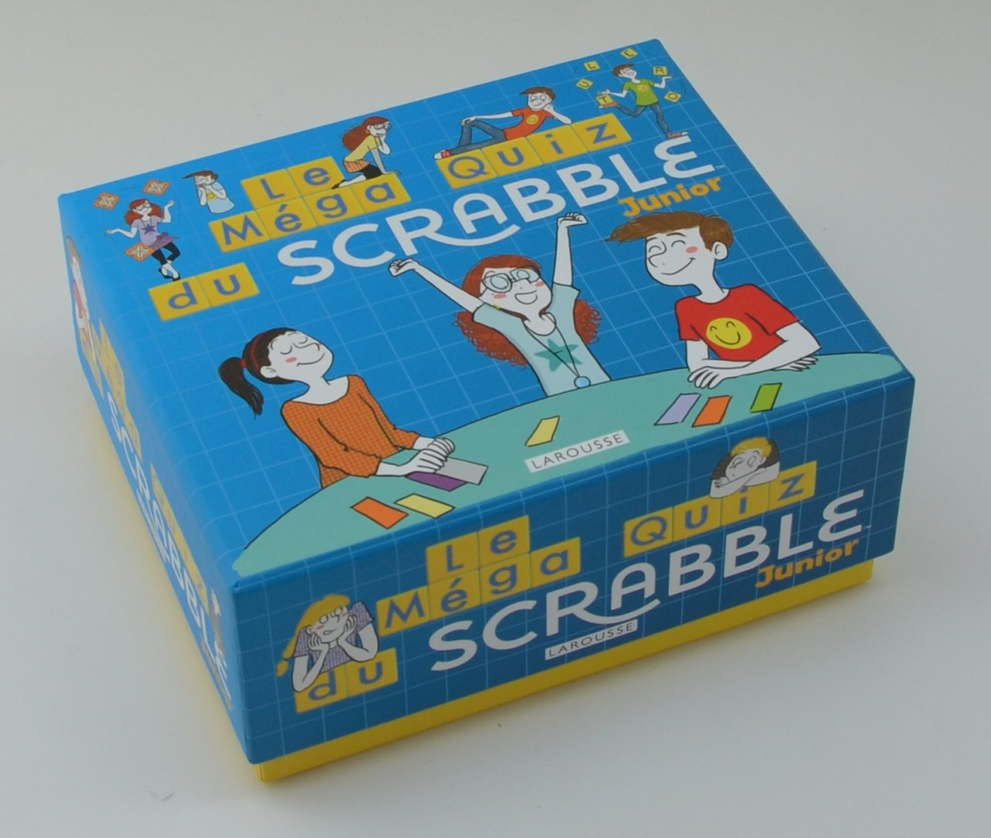 Méga Quiz scrabble junior (Boîtes Quiz): Amazon.es: Meyer, Aurore ...