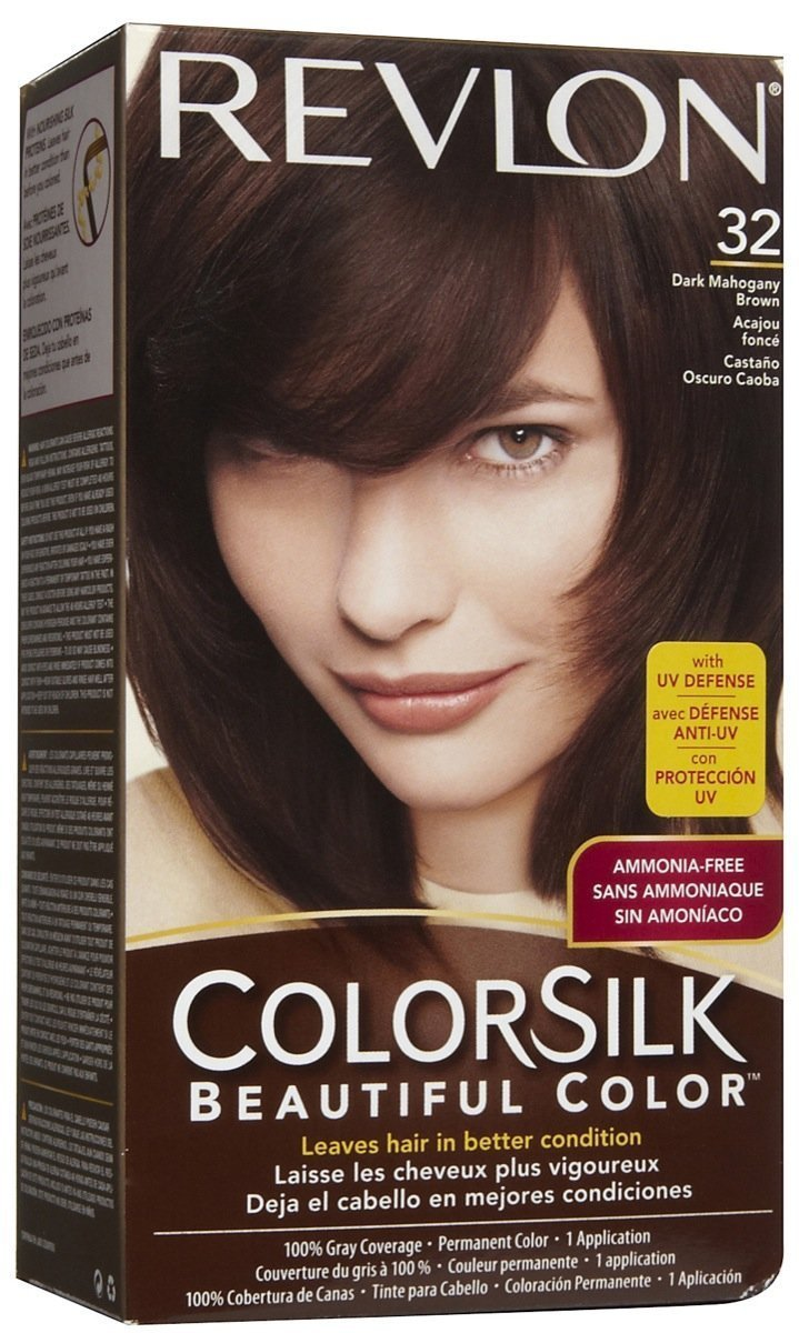 Amazon Colorsilk Permanent Haircolor Dark Mahogany Brown 32