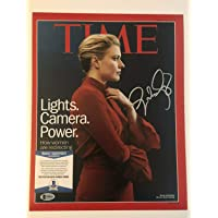 $250 » Greta Gerwig Autographed Signed 11x14 Time Magazine Authentic Autograph Beckett Cert